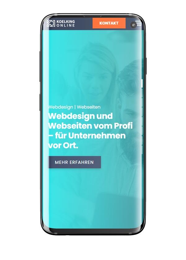 Hintergrund Mobile Koelking-online